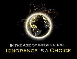 ignorance-is-a-choice