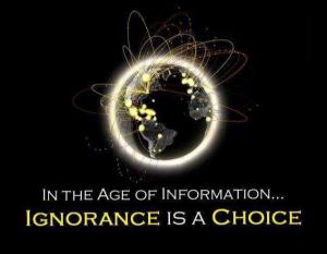 ignorance-is-a-choice